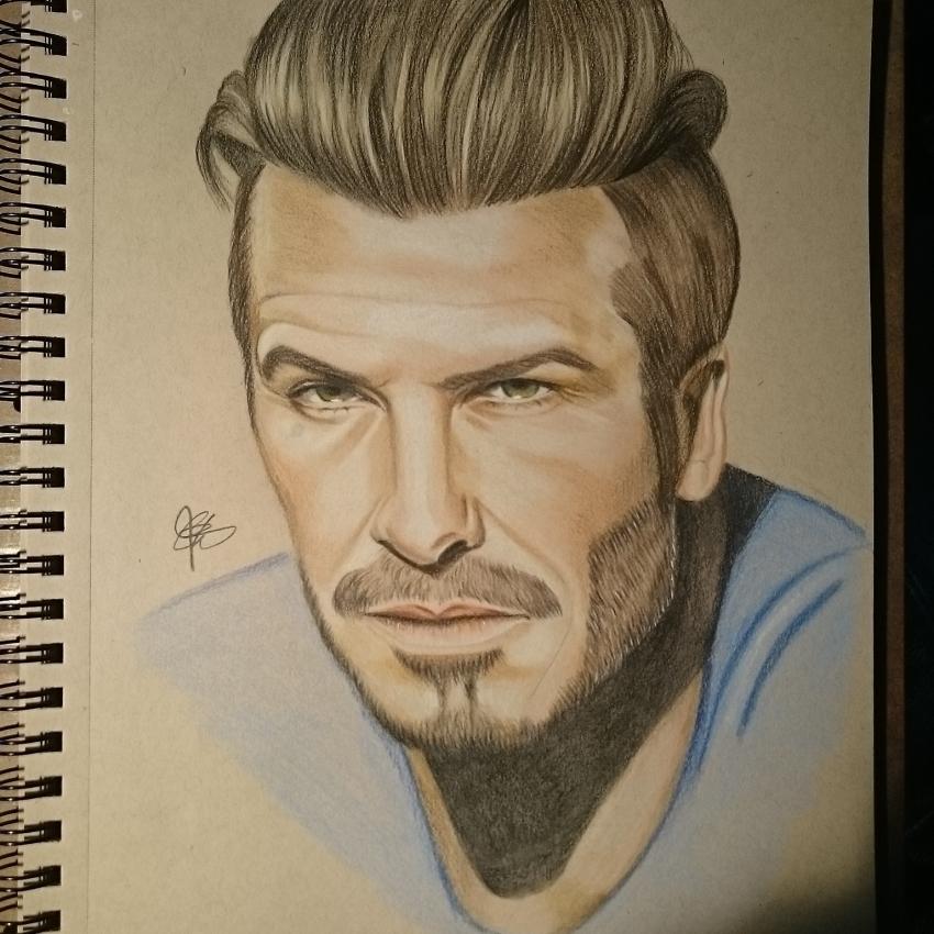 David Beckham by chalittlefairy